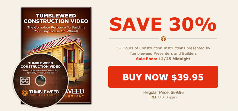 tumbleweed sale video