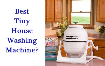 best tiny house washing machine