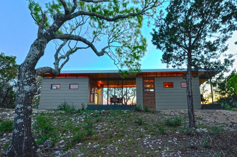 Kanga modern cabin tiny house inspiration for Breezeway house