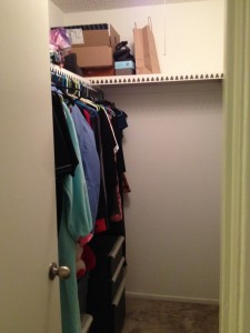 Closet After the Purge
